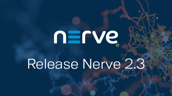 Nerve 2.3 offers new features and improved functionalities