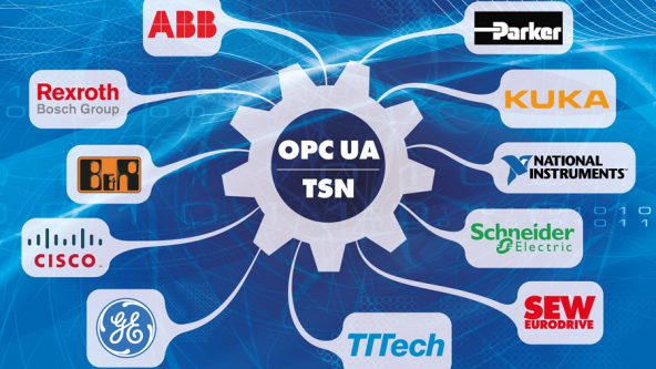 Leading Automation and Information Technology Suppliers Jointly Promote OPC UA over TSN as Unified Communication Solution