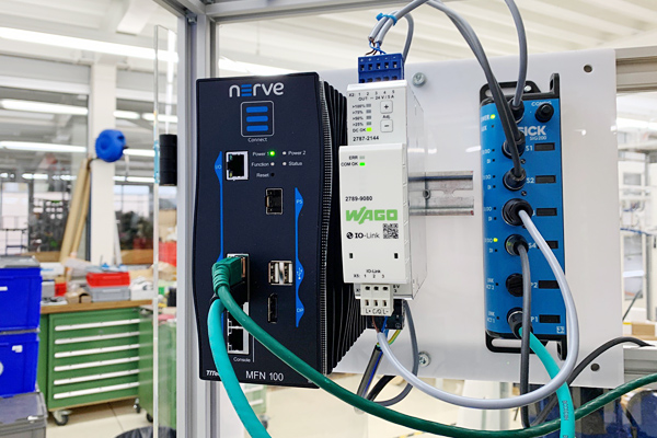 Nerve is showcased in Swiss Smart Factory's demo plant.